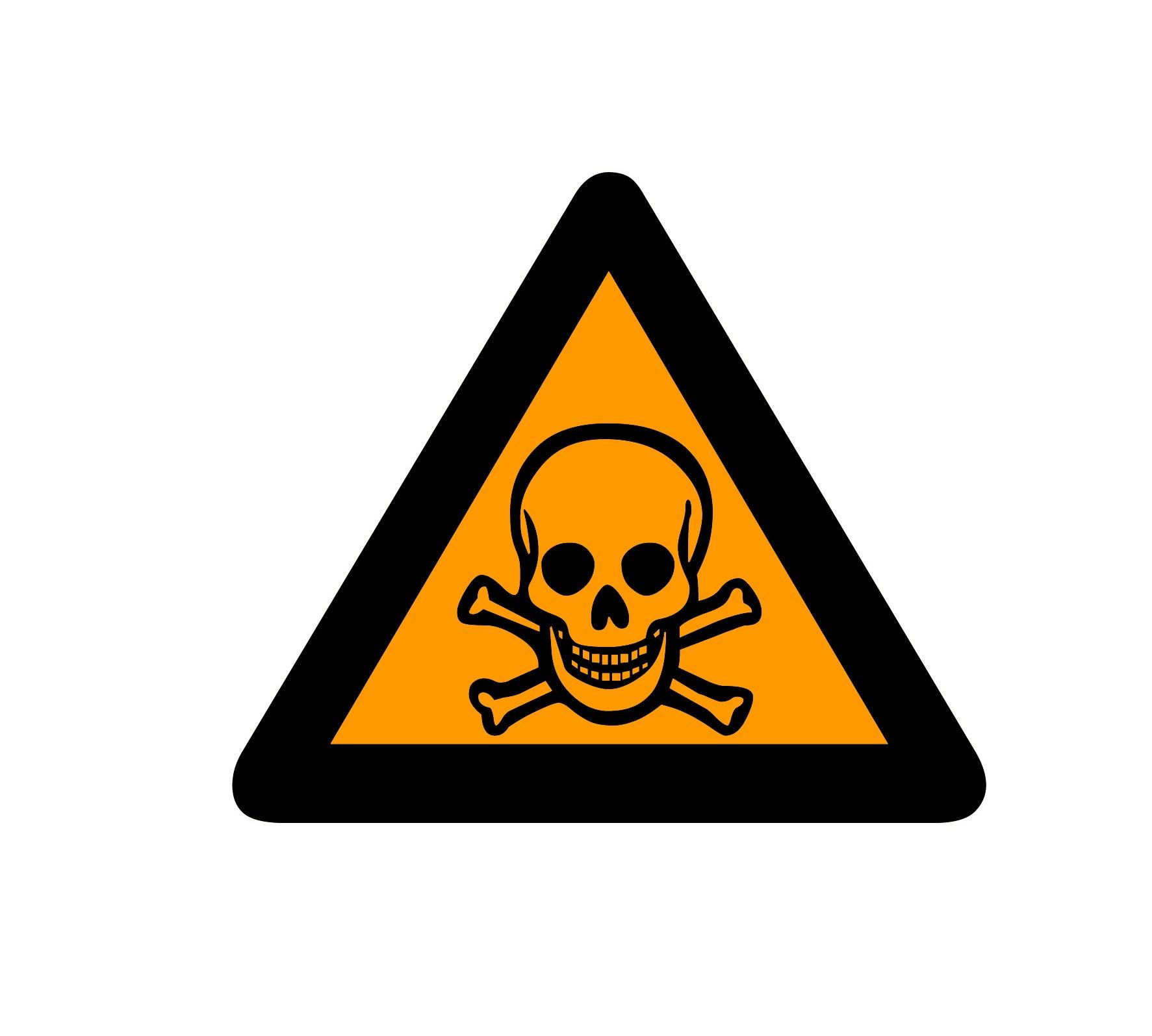 How To Draw Toxic Symbol