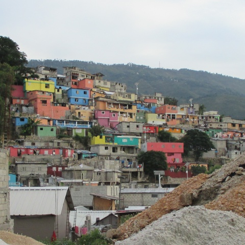 Colorful Houses in Port au Prince
