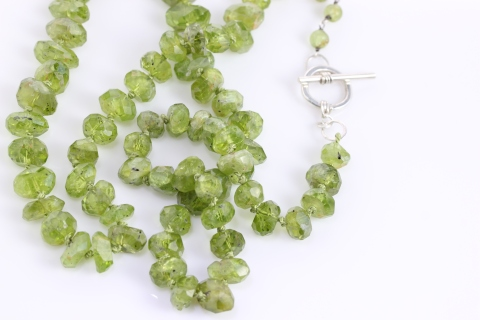 Peridot Strand Necklace