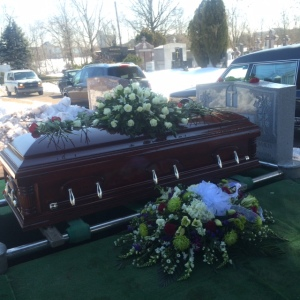 Mom's Casket