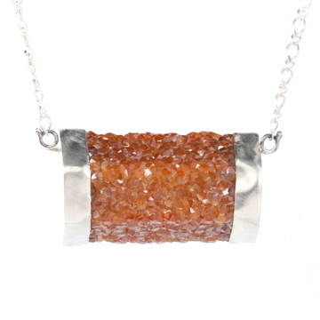 Big_Spessartite_Smokey_Quartz_Necklace_Close 2016