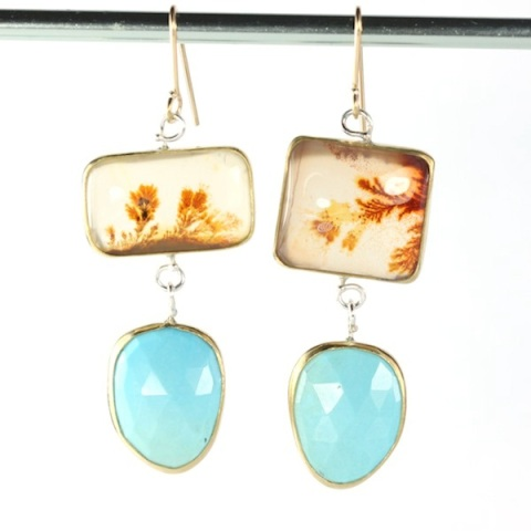Dendritic_Agate_Turquoise_Earrings 2016.JPG