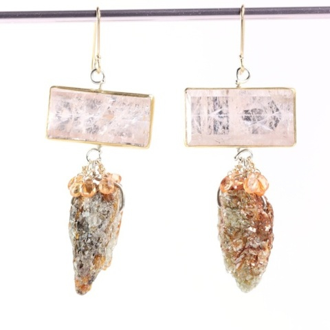 Morganite_Orange_Kyanite_Sapphire_Earrings 2017