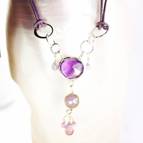 Purple_Amethyst_Sapphire_Necklace